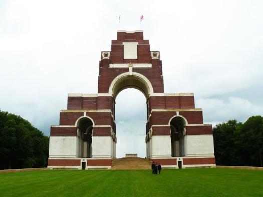 Thiepval Memorial to the Missing Somme France